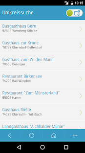 Busgruppeninfo - screenshot