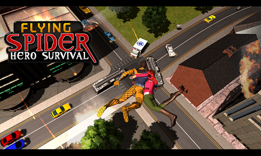 Flying Spider Hero Survival For PC