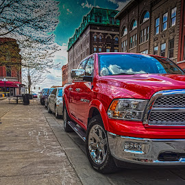 RAM Tough by John Guest - Transportation Automobiles ( iphoneography, hdr, truck, ram, photoshop hdr merge )