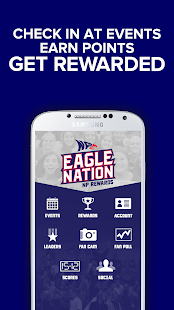 Eagle Nation NP Rewards - screenshot