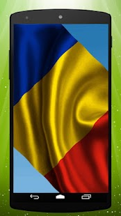 Romanian Flag Live Wallpaper - screenshot
