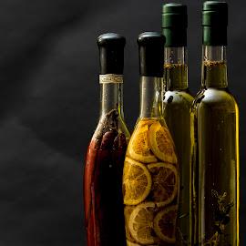 Bottles by Tim Crumly - Food & Drink Ingredients