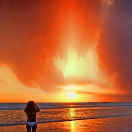 enjoy sunset by Malik Artan - Digital Art Places