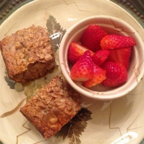 Breakfast Oatmeal Squares