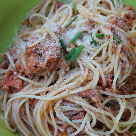 Money-Saving Salmon Spaghetti