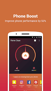 Flame Clean: Boost Power save PC
