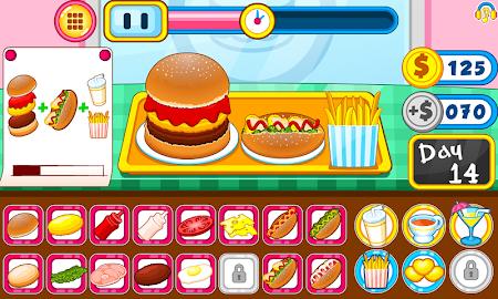 Burger shop fast food 1.0.5 screenshot 2088676