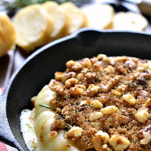 Brown Sugar Walnut Baked Brie