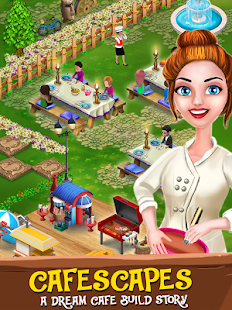 My Cafe Story: Family Restaurant Match 3 Game