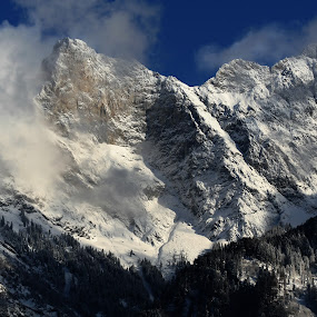 The Alps by Johann Fouche - Landscapes Mountains & Hills ( mountain, winter, snow, germany, alps,  )