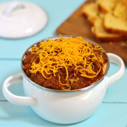 Beef and Sausage Healthy Crock Pot Chili