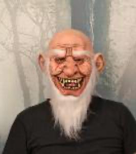 """Маска карнавальня бородатый Старик, серия """"Хеллоуин"""""""