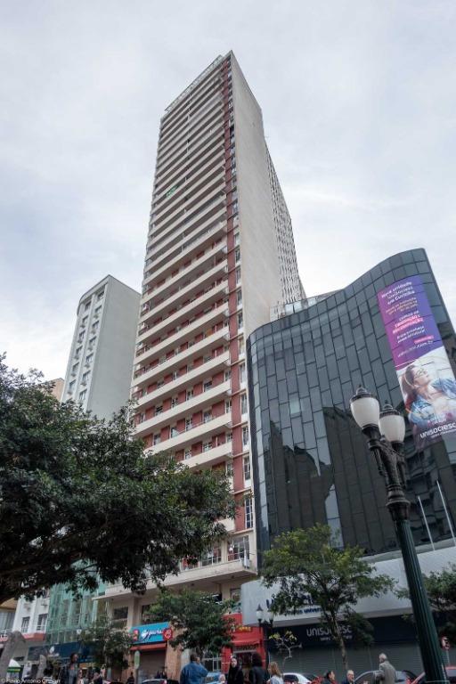 AP0342-ROM, Apartamento de 1 quarto, 36 m² à venda no Centro - Curitiba/PR