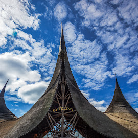 Efteling by Sergey Kravtsov - City,  Street & Park  City Parks ( canon, clouds, sky, efteling, park, holland, travel, travel photography, city )