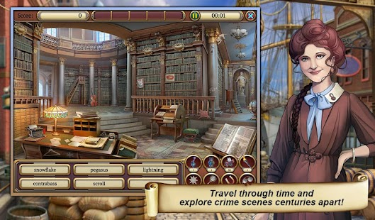 2 Hidden Object Time Crimes Case App screenshot