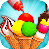 Free Download Rainbow Ice Cream Cone Cooking APK for Samsung