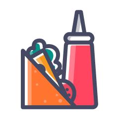 Dinki Dine, Kadri, Kadri logo