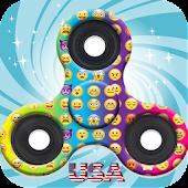 Emoji Fidget Spinner Wallpaper Usa HD APK for Bluestacks