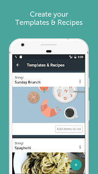 Bring! Shopping List APK screenshot thumbnail 4