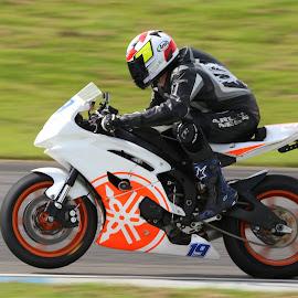 No. 19 by John Davies - Sports & Fitness Motorsports ( pembrey circuit, tamron sp 150-600mm f/5-6.3 vc usd, jd photography, motorsport )