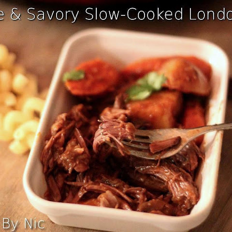 Simple & Savory Slow Cooked London Broil