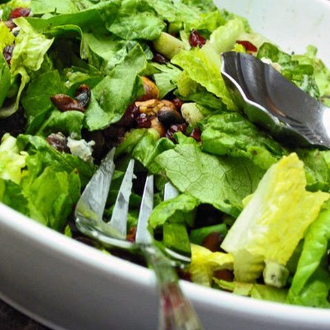 Hello Spring Salad with Sweet Cashews and Cranberries