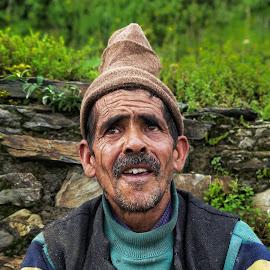 by Dhruv Saini - People Portraits of Men ( mobilography, people, photography, culture, portrait )