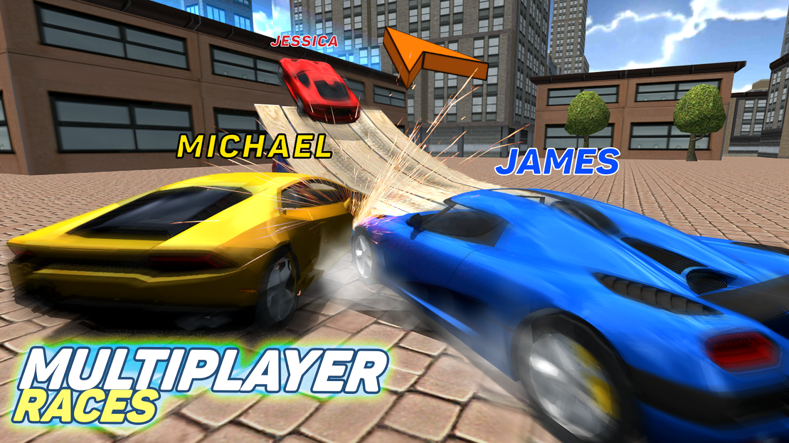 Multiplayer Driving Simulator Screenshot