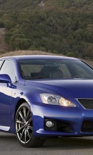 Wallpaper of Lexus ISF - screenshot