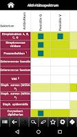 Screenshot of Antibiotika pocketcards 2015