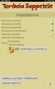 Cartellone Tombola Zappetelle - screenshot