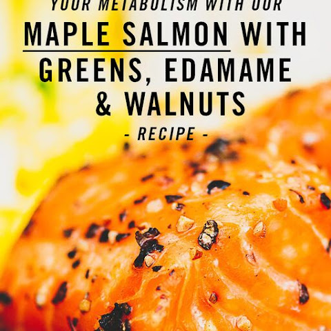 Fat Burning Maple Salmon