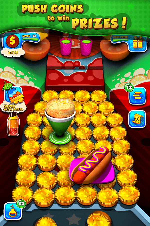 Soda Dozer: Coin Pusher Screenshot