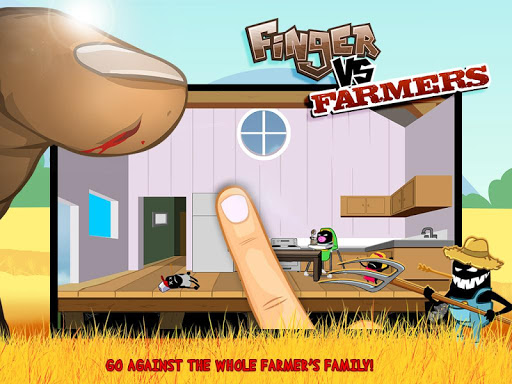 Finger VS Farmers - screenshot