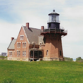 Block island lighthouse in ri by Stephen Deckk - Buildings & Architecture Decaying & Abandoned (  )