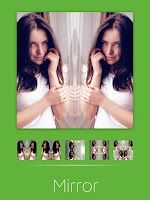 Screenshot of InstaBox:square collage mirror