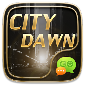 (FREE) GO SMS CITY DAWN THEME