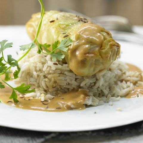 Smarter Veal-Stuffed Cabbage