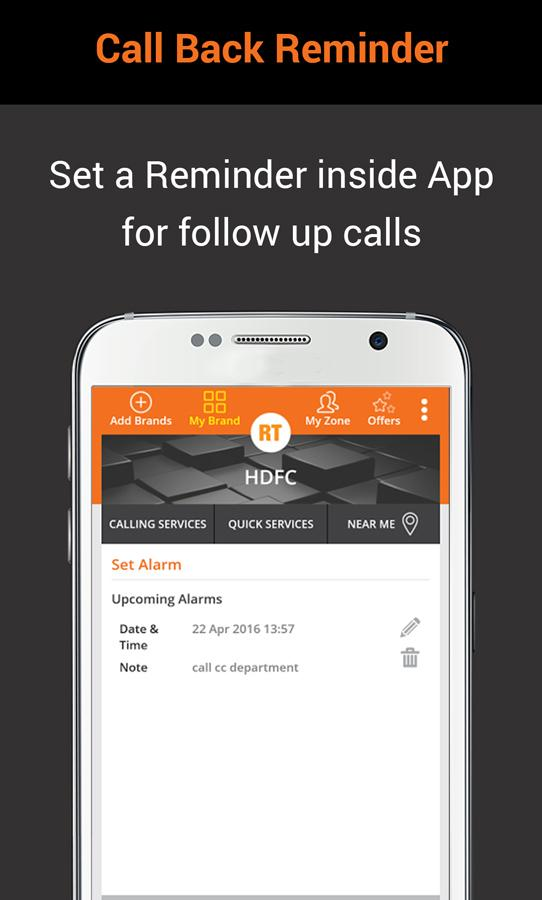 RightTap - CustomerCare on Tap Screenshot 7