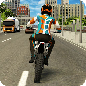 Moto Traffic Dodge 3D