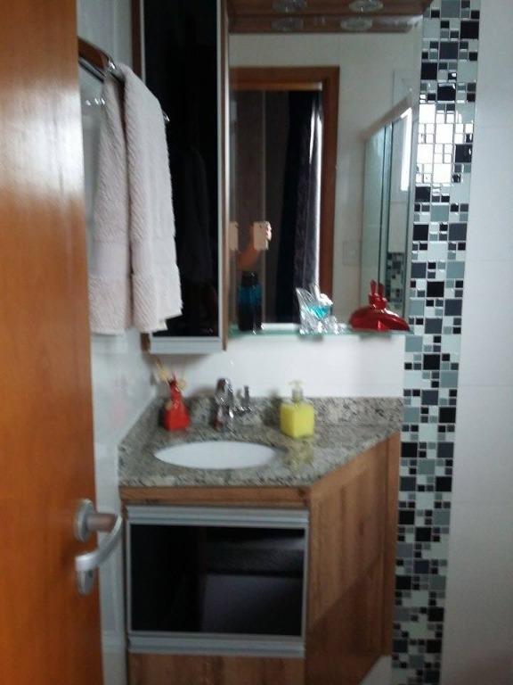 Cobertura com 2 dormitórios à venda ou permuta, 128 m² - Parque Oratório - Santo André/SP