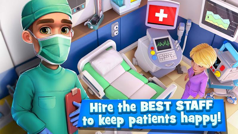 Dream Hospital - Health Care Manager Simulator Screenshot 10