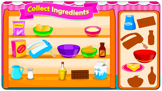 Game Sweet Cookies - Game for Girls APK for Windows Phone