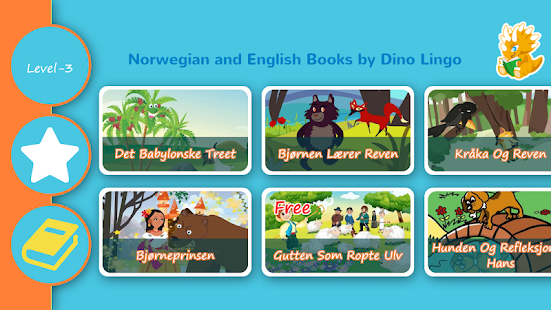 Norwegian and English Stories - screenshot