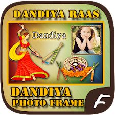 Navaratri Dandiya Photo Frame