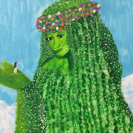 Te Fiti by LaDawn Park - Painting All Painting