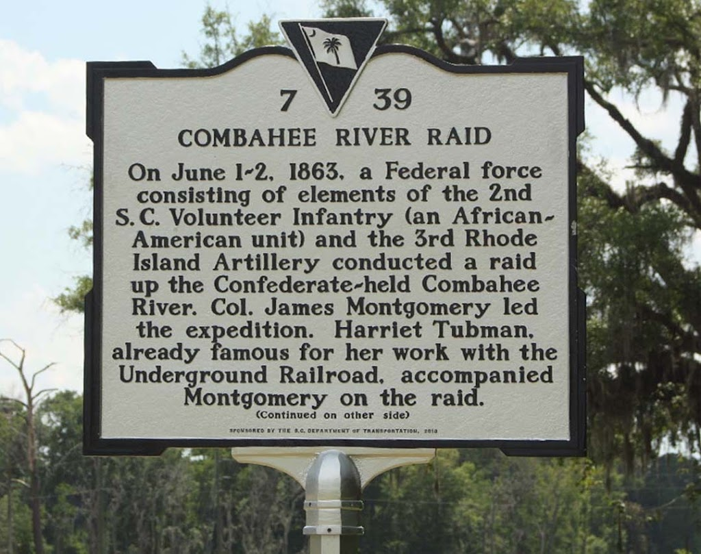 Combahee River Raid  On June 1-2, 1863, a Federal Force consisting of elements of the 2nd S.C. Volunteer Infantry (an African- American unit) and the 3rd Rhode Island Artillery conducted a raid up ...