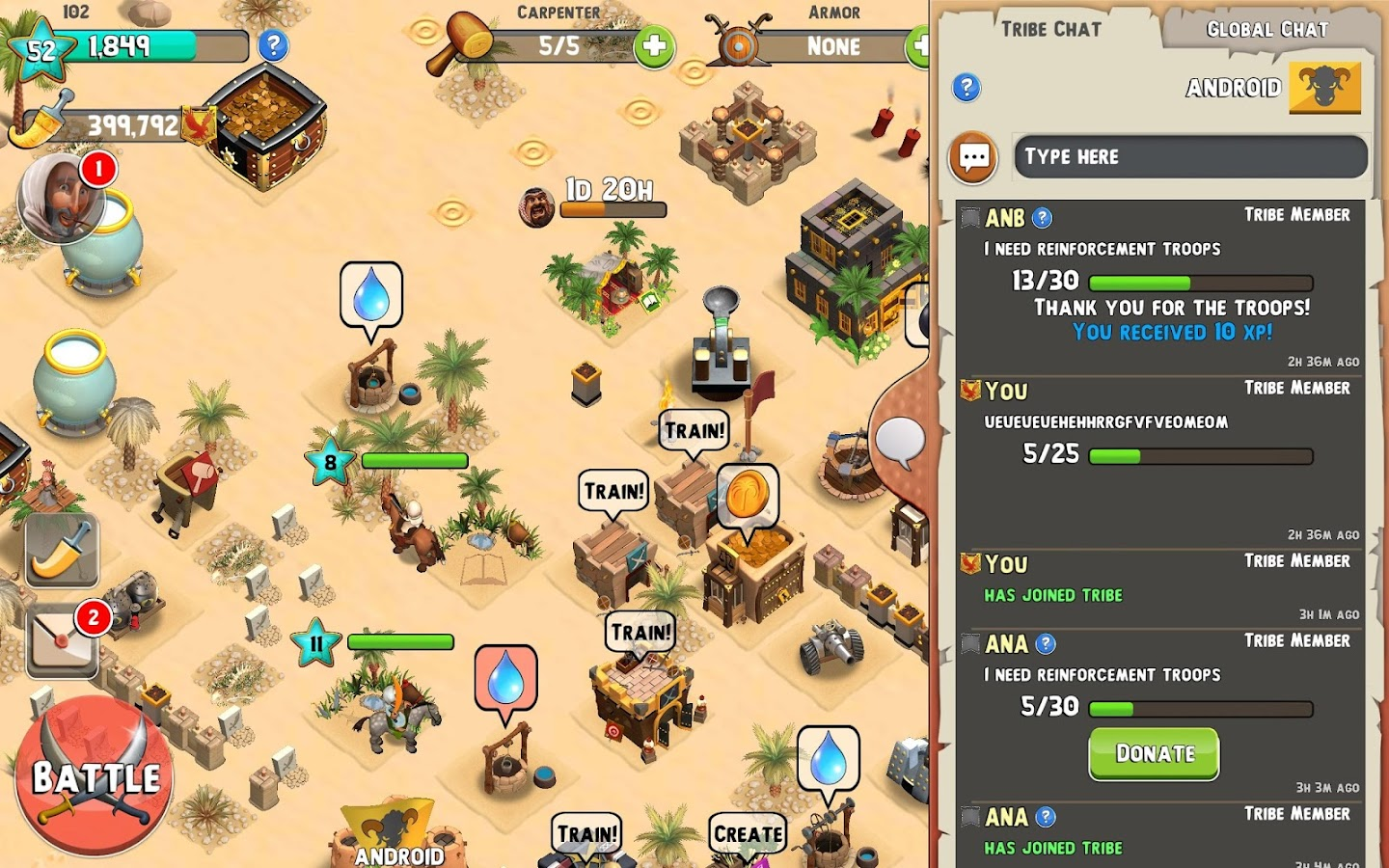 Tribal Rivals Screenshot 11