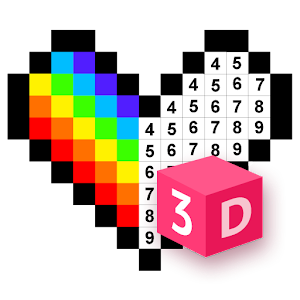 3D No.Draw – Color by Number Online PC (Windows / MAC)