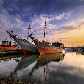 Paoteree Phinisi 2  by Esther Pupung - Transportation Boats